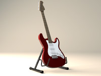 Electronic Guitar + Guitar stand
