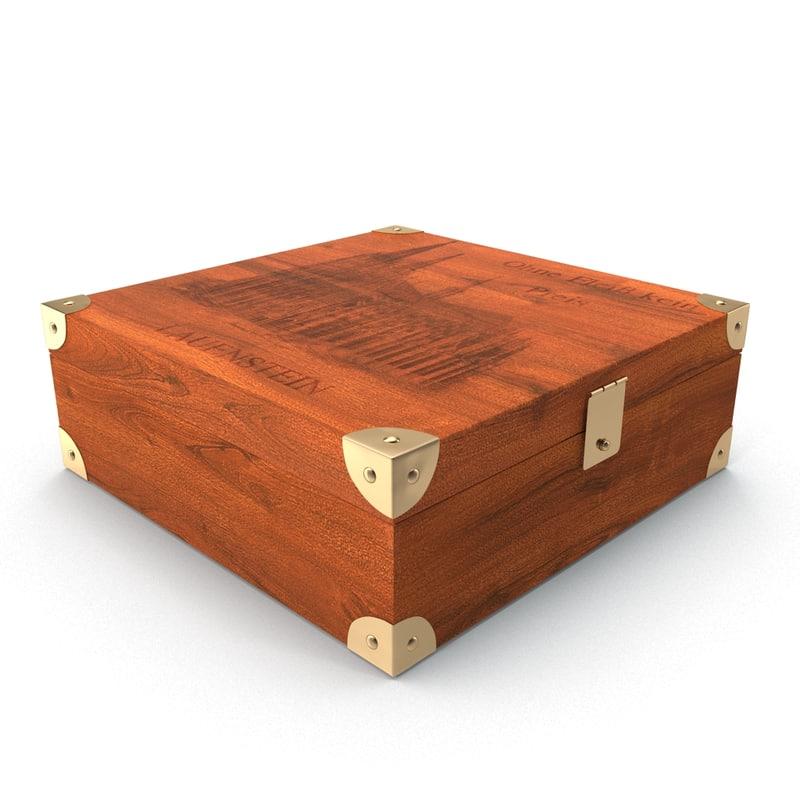 3d casket model