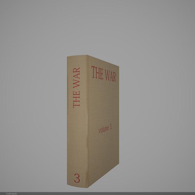 3d book 21 model