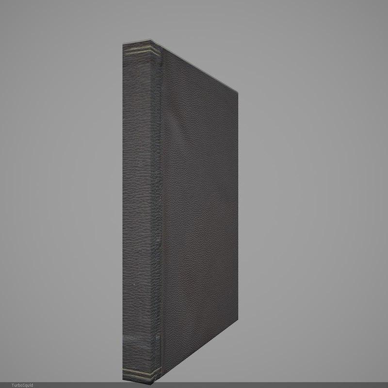 3d book 6 model