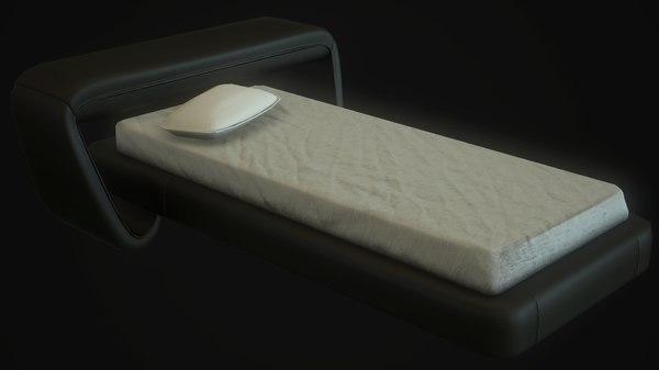 modern bed x free