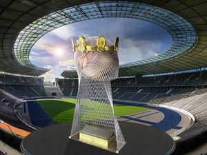 soccer trophy obj