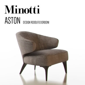 3d minotti aston model