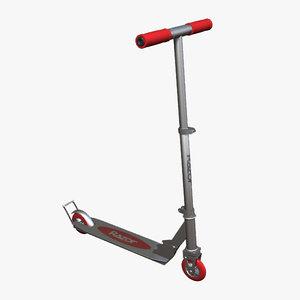 3dsmax kick scooter