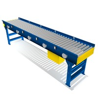 3d 3ds live roller conveyor 24