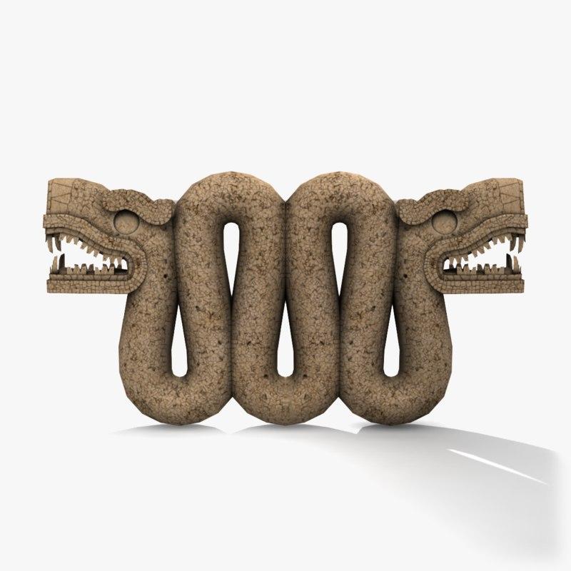 max aztec statue serpent