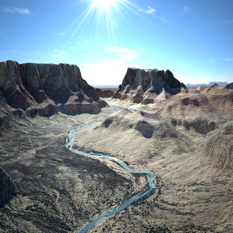 3dsmax grand canyon