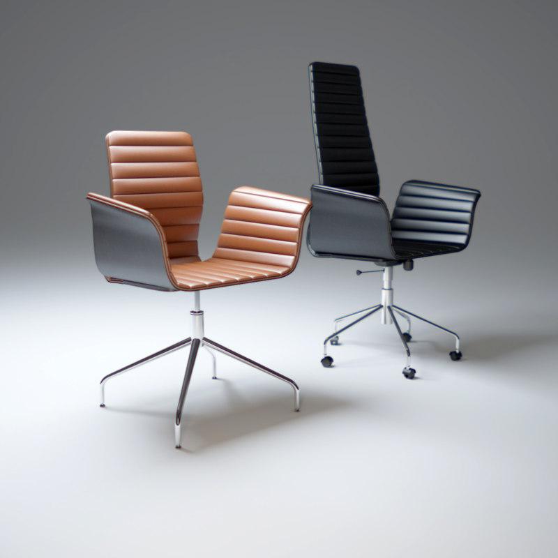 3d chair-meeting-bross model