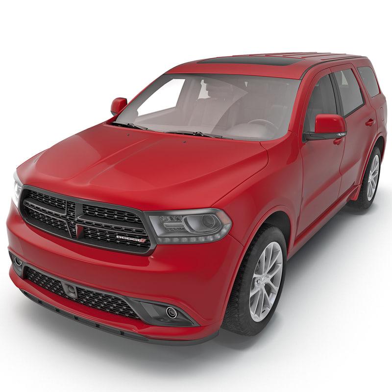 3d dodge durango 2014 model