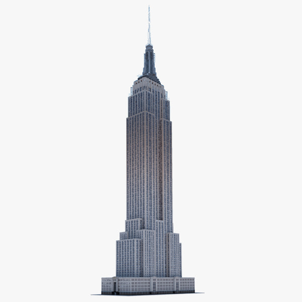 empire state building new york 3d 3ds