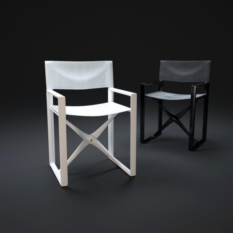 3d la-regista-bianca model