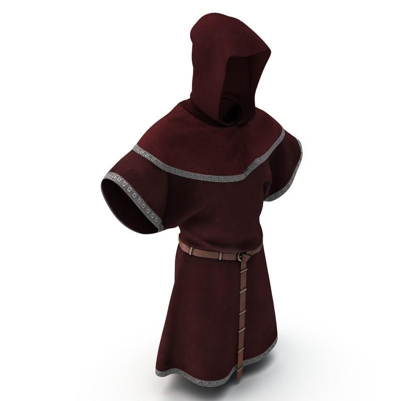3d medieval clothes 5