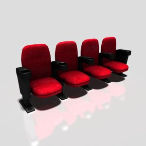movie seats obj