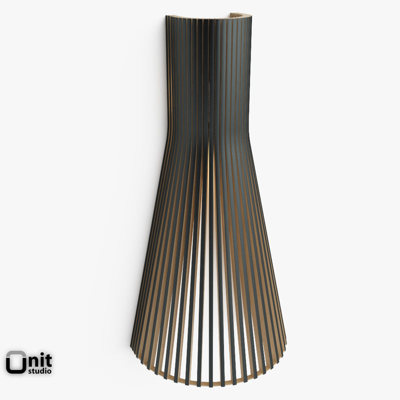 3d model of secto 4230 wall light