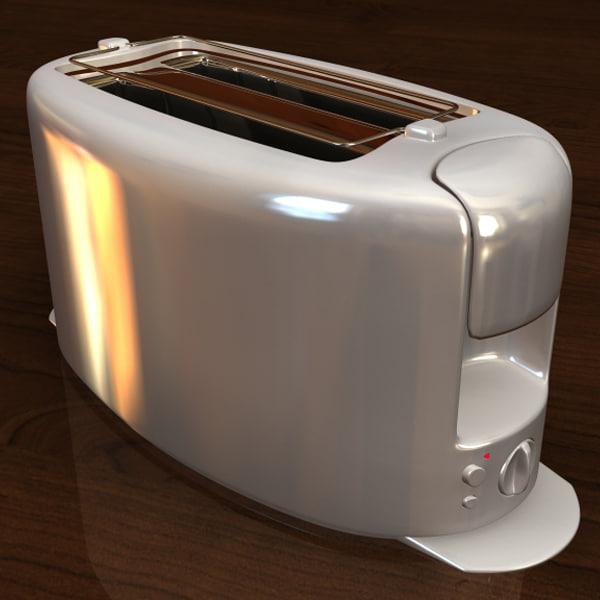 toaster obj free
