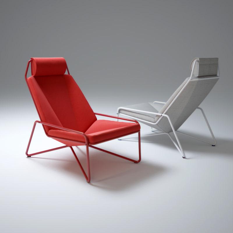 3d model of vik-chair