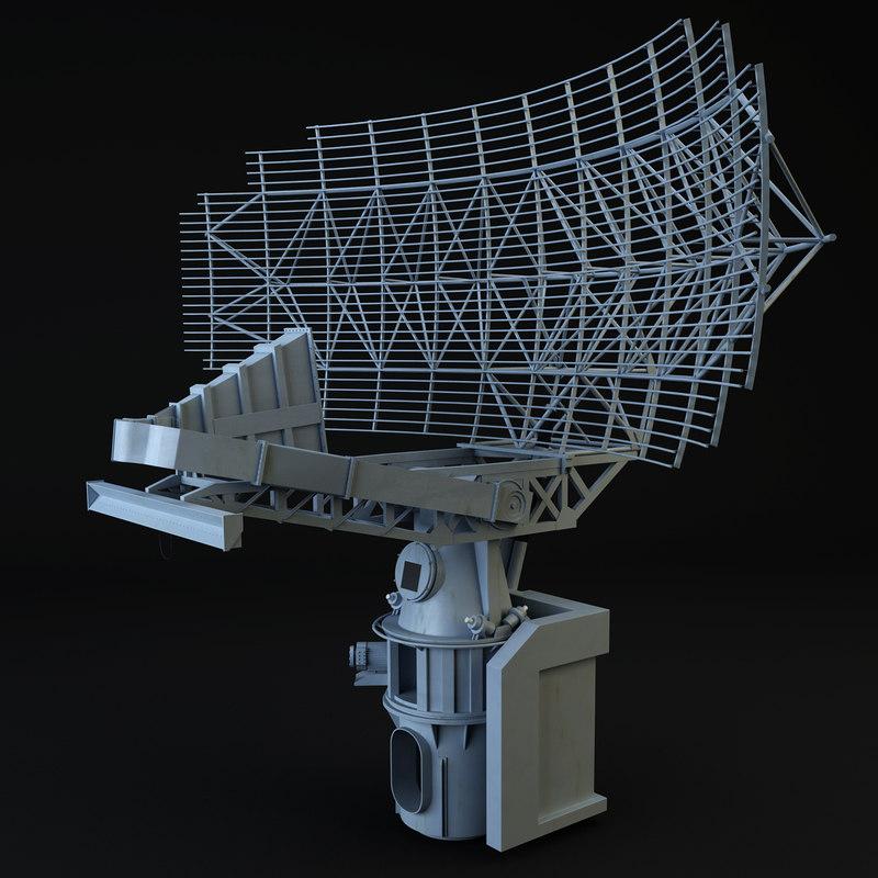3d max sps-49 radar