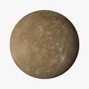 Planet Mercury 3D models