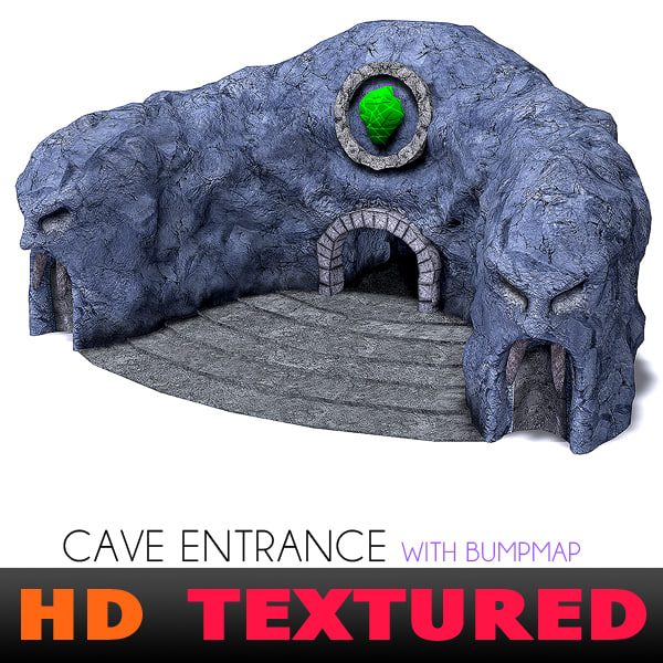 3ds max cave face