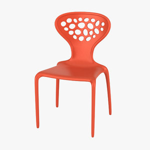 3ds max moroso supernatural chair