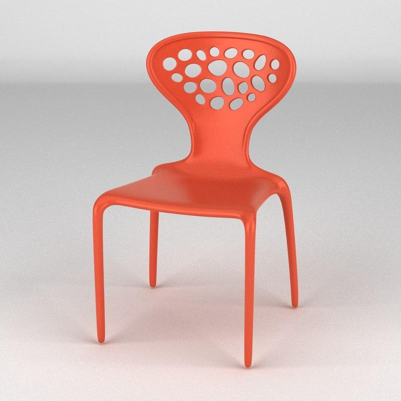 3ds max moroso supernatural chair