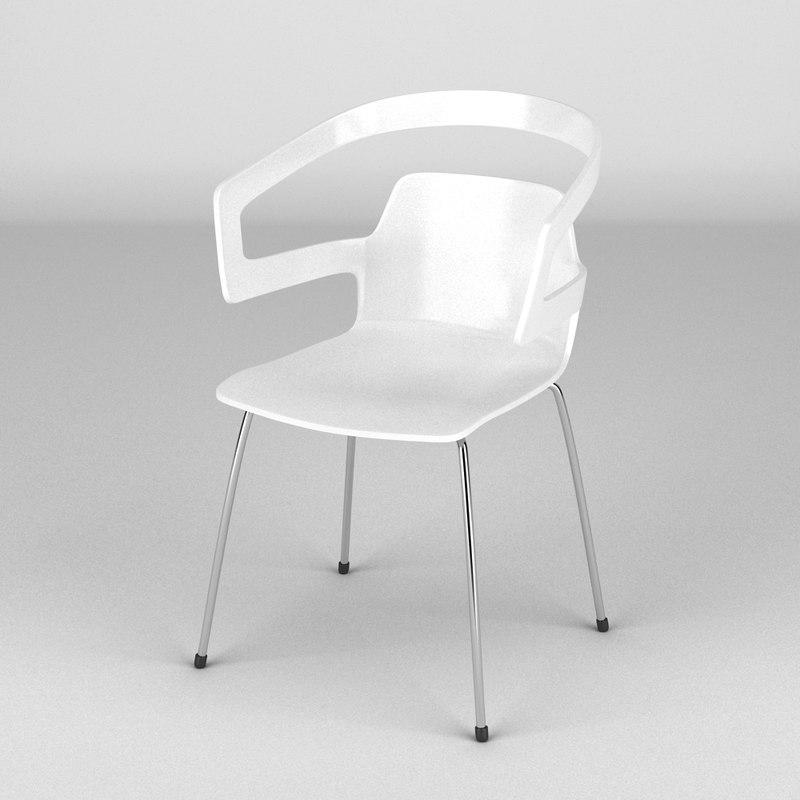 3d alias segesta chair model