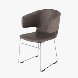 alias taormina chair 3d max