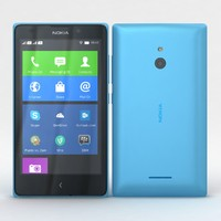 Nokia XL and XL Dual Cyan