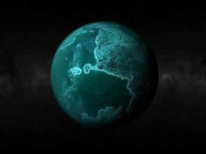 planet 3d max