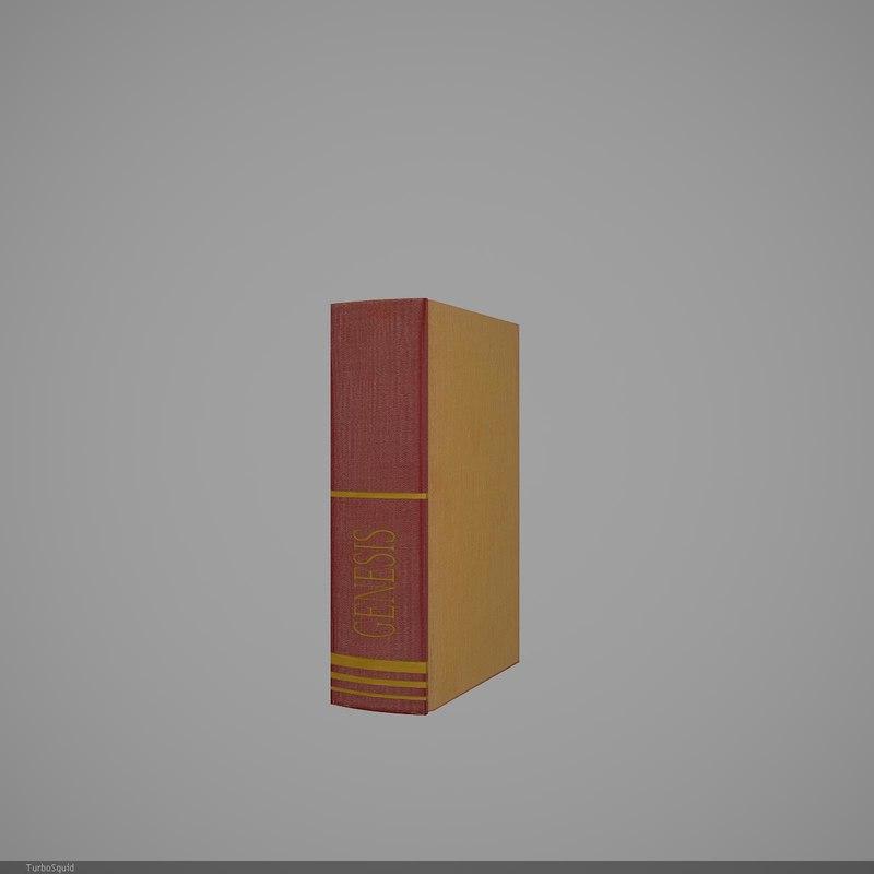 book 41 3d model