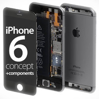 iPhone 6 concept + components