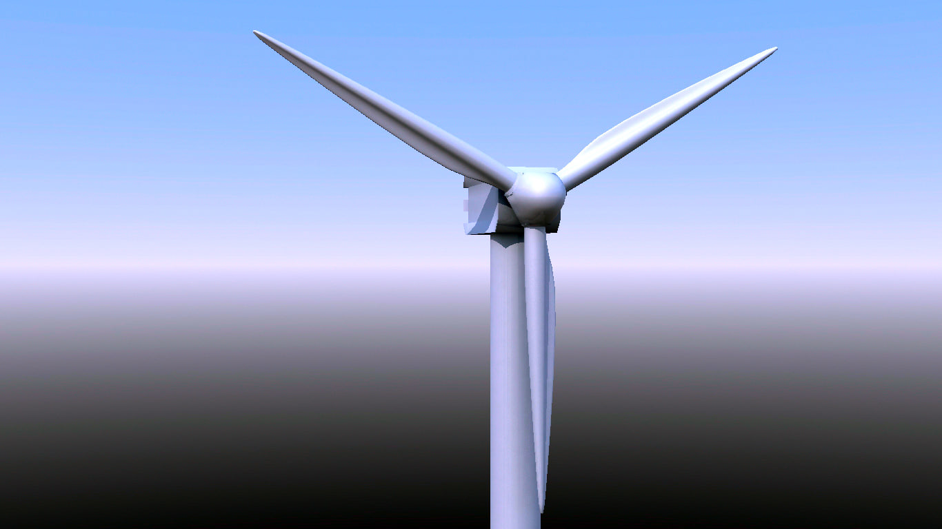 wind turbine 3ds
