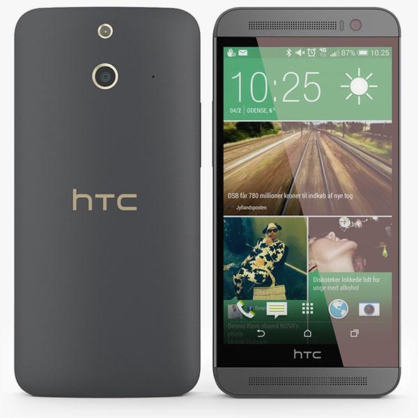 3d htc e8 model
