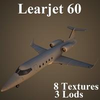 3d learjet 60