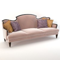 3ds max bizzotto montmartre sofa