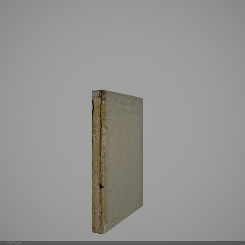 3d model book 4