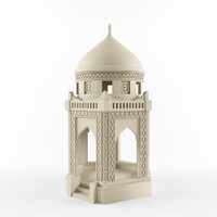 kazakhs mausoleum 3d model
