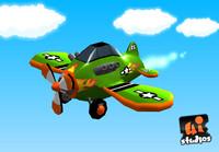 fbx toon race plane