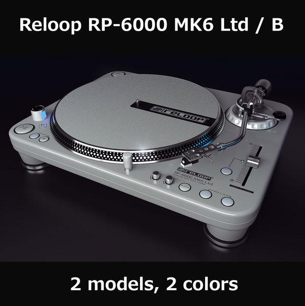 3d reloop 6000 mk6