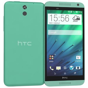 3ds max htc desire 610 green
