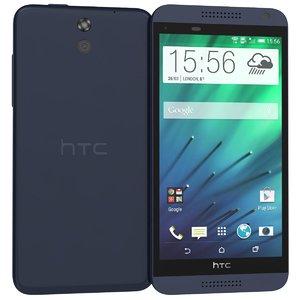 htc desire 610 blue