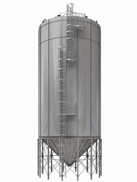 realistic silos 3d max