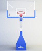 basketball hoop 3d max