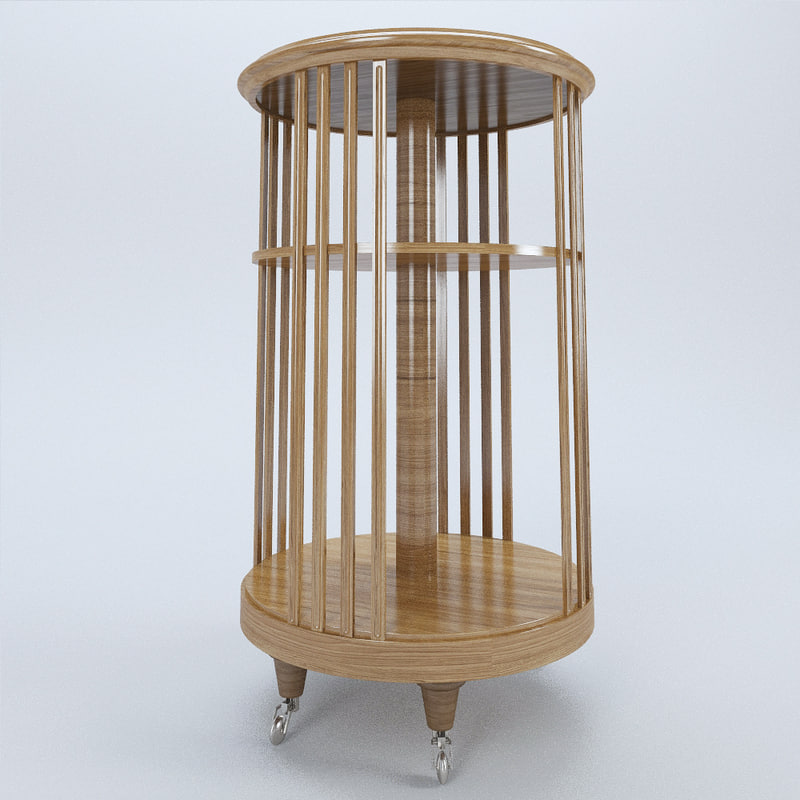key table 3d model