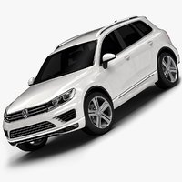 2015 Volkswagen Touareg (Low Interior)