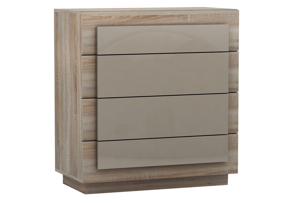 4 drawer chest 3d model