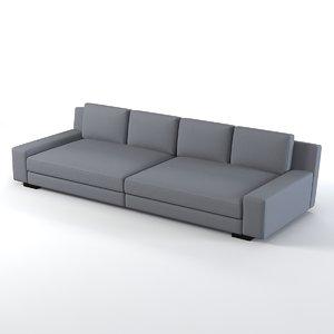 3d model augustin sofa christian