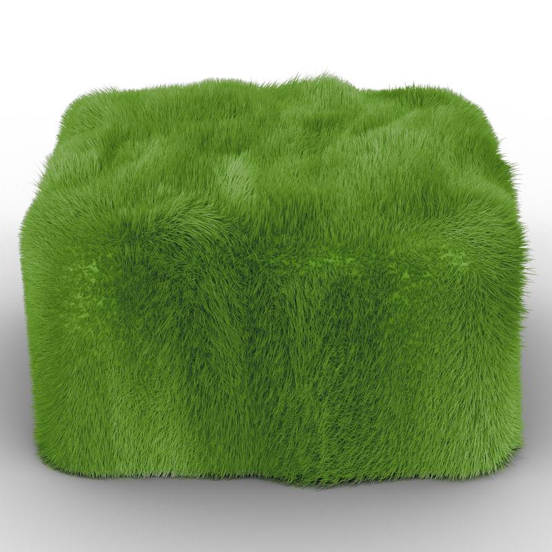 grass chair 3d model