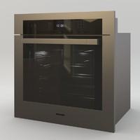 3d model miele oven