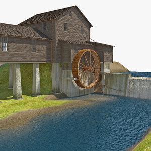 max water wheel